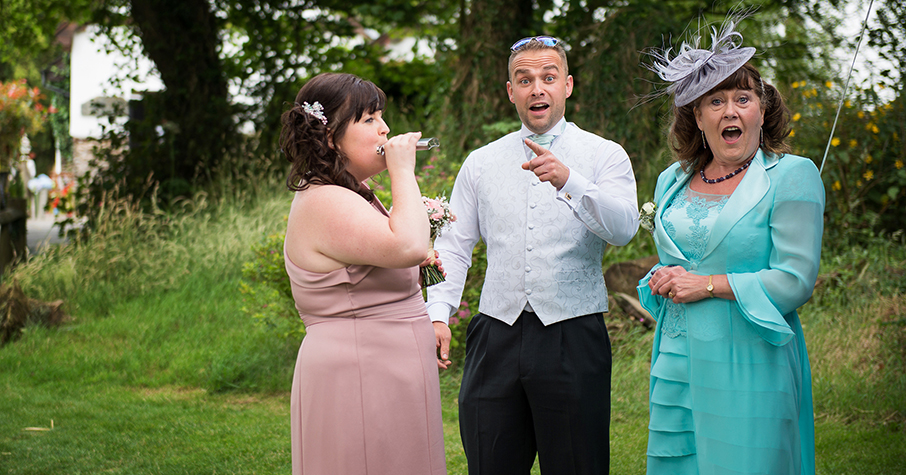 wedding wacky moments
